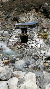 Khumjung hydro power station, khumjung hydro power