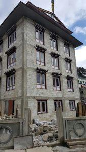 Namche bazar nepal, namche bazar high rise, the travelling builder