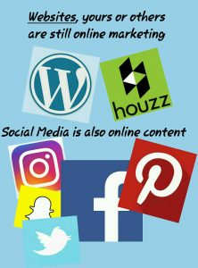 Online content, online marketing
