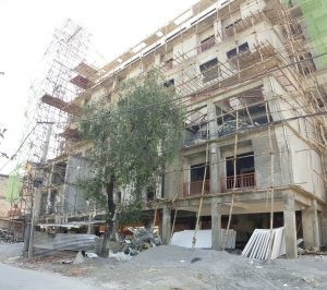Pokhara construction, Nepal construction, commercial construction, commercial scaffolding