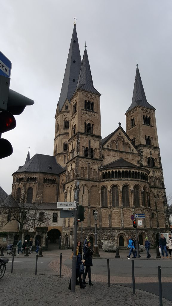 Bonn's Cathedral, Church Bonn germany