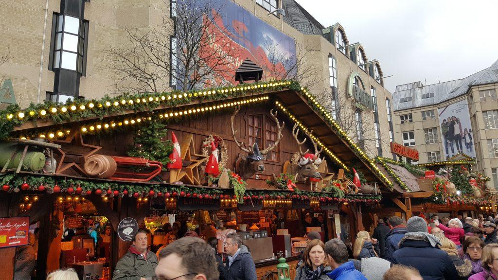Christmas market stalls, Bonn christmas markets