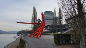 Bonn Rhine river sculpture, Bonn sculptures