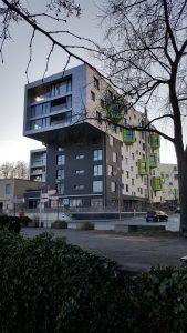 Modern building, Bonn modern architecture