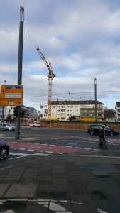 tower crane, Bonn germany