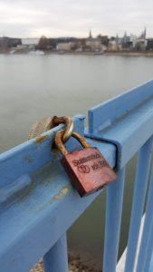 Love bridge bonn germany