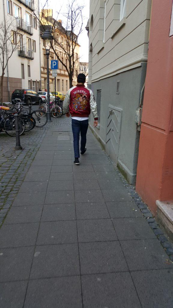 awesome jacket, bonn germany