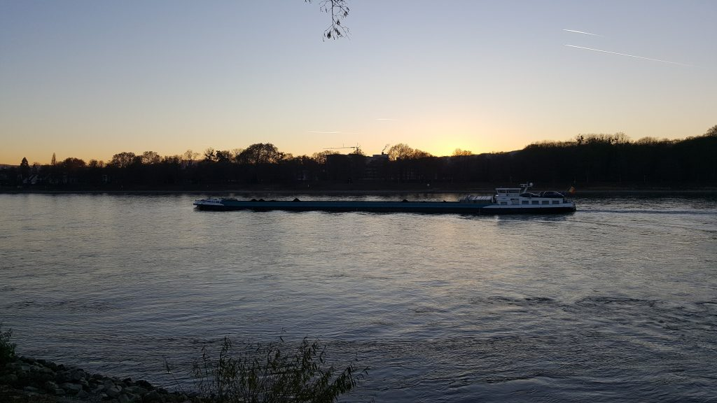 River boat, Rhine river