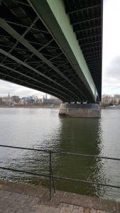 Bridge, river rhine