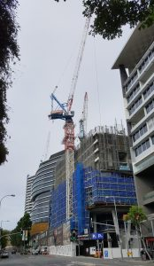 Hutchinson Builders, Tower cranes, Brisbane