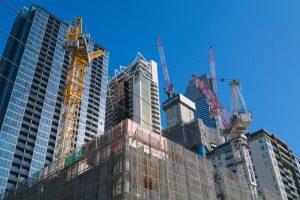 2017 Multiplex tower cranes