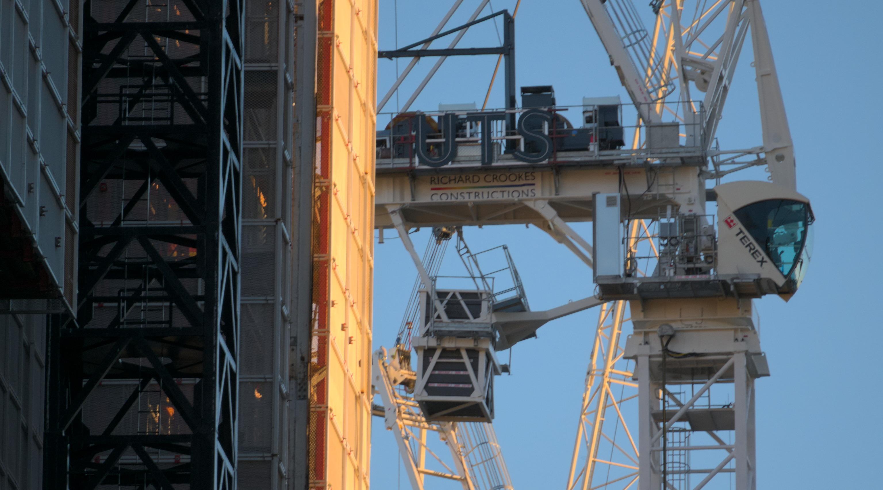 Terex Crane in Sydney