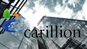 Carillion collapse, looking up a commercial building facade