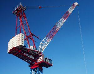Raimondi Cranes LR330 luffing tower crane